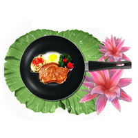 Home steak frying Cooking Pan Non stick Coating Pancake Baking Pot Easy to clean No oil fumes pan Kitchen Tools
