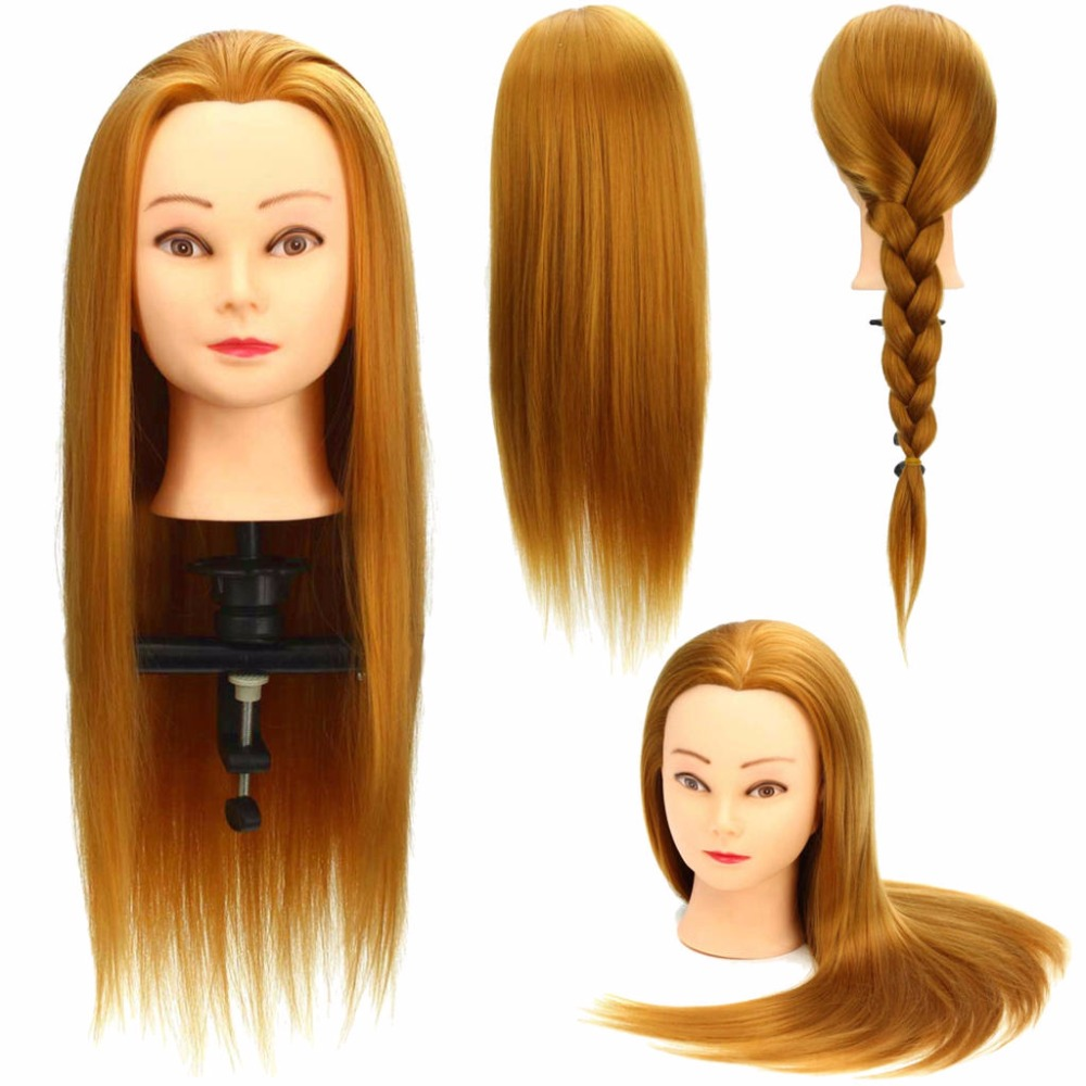 CAMMITEVER Hair Styling Mannequin Head Dummy Hairdresser Professional Wig