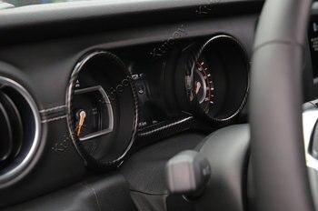 Abziehbilder Für Jeeps | Innenleisten Für Jeep Wrangler JL 2018 Up Auto Dashboard Dekoration Abdeckung Aufkleber Ring Rahmen Aufkleber Auto Styling Zubehör