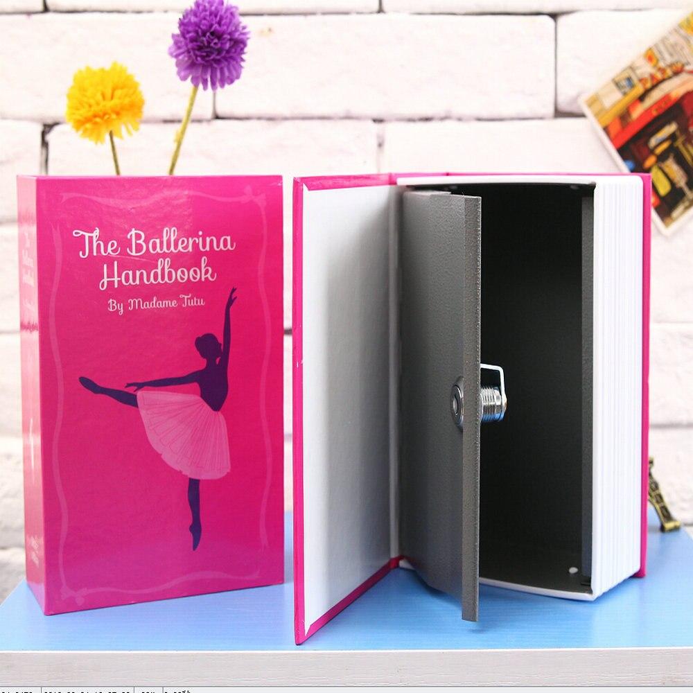 WOFO Secret Book Piggy Bank Money Hidden Secret Security Safe Key Locker or Password Locker Box Birthday Present 18*11.5*5.5CM