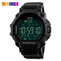 SKEMI Mens Watches Top Brand Luxury Bluetooth Smart Watch Pedometer Digital Military Sports Watches Male Clock