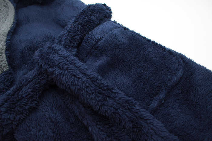 ... UK Brand EUR size for man winter flannel hooded warmth long bathrobes  home pajamas bath robes ... c19c3e89c