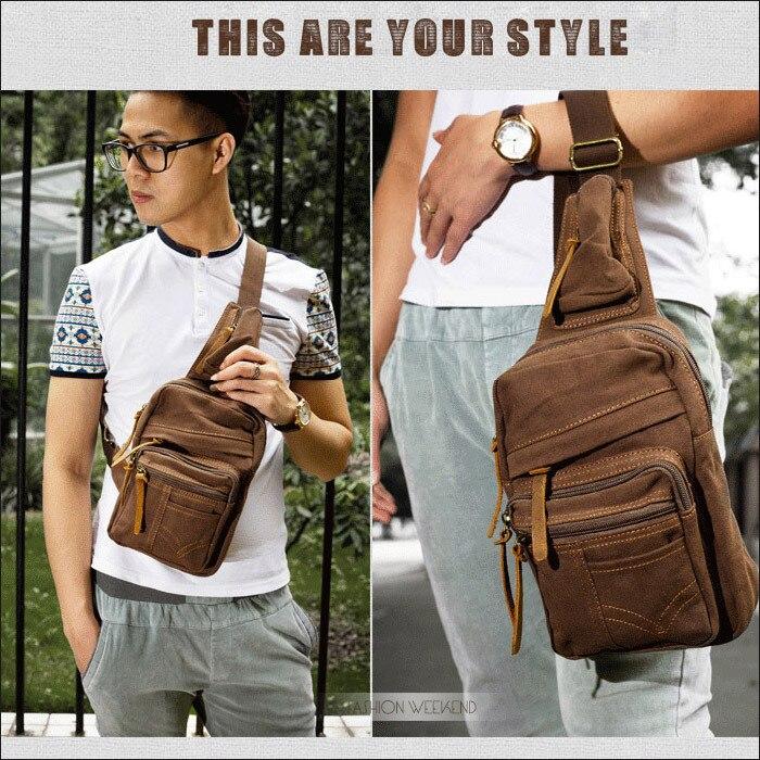 Famous Leather Small Chest Bag Men Brand Travel Women Messenger ...