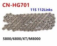 shimano CN HG701 hg901 HG601 Ultegra 11 Speed Chain 5800 6800 XT M8000 R8000 road&mountain mtb bicycle cycling bike Chains