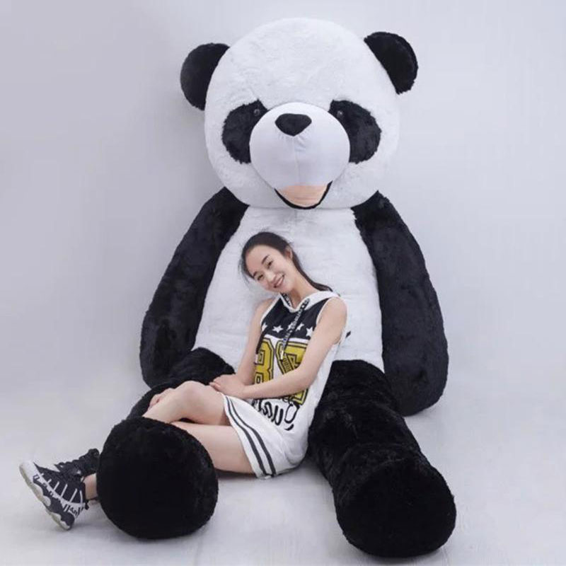 Unfilled Bear Giant Panda Bear Skin 300cm Animal High Quality kids Toys Birthday Gift Valentine's Day Gifts For Children Gift lovely giant panda about 70cm plush toy t shirt dress panda doll soft throw pillow christmas birthday gift x023
