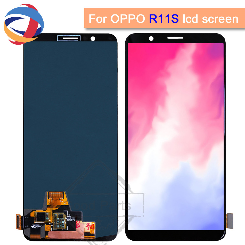 Tested 6.01 Lcd For OPPO R11s LCD Display with Touch Screen Digitizer Assembly For OPPO R11s LCD ReplacementTested 6.01 Lcd For OPPO R11s LCD Display with Touch Screen Digitizer Assembly For OPPO R11s LCD Replacement