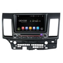 Navirider CAR DVD Android 8.0.0 8-core touch screen car stereo for Mitsubishi Lancer rockford autoradio free map camera gift