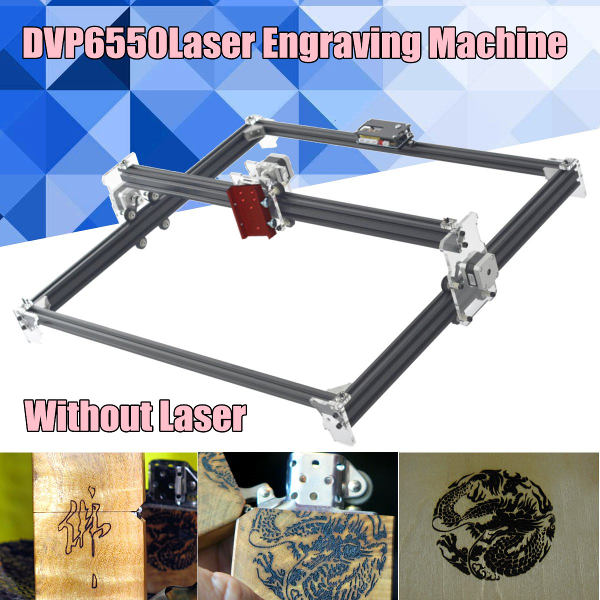 65x50cm 2Axis Laser Engraving Cutting Machine Engraver CNC Desktop CNC Router Best Advanced toys Without Laser цена