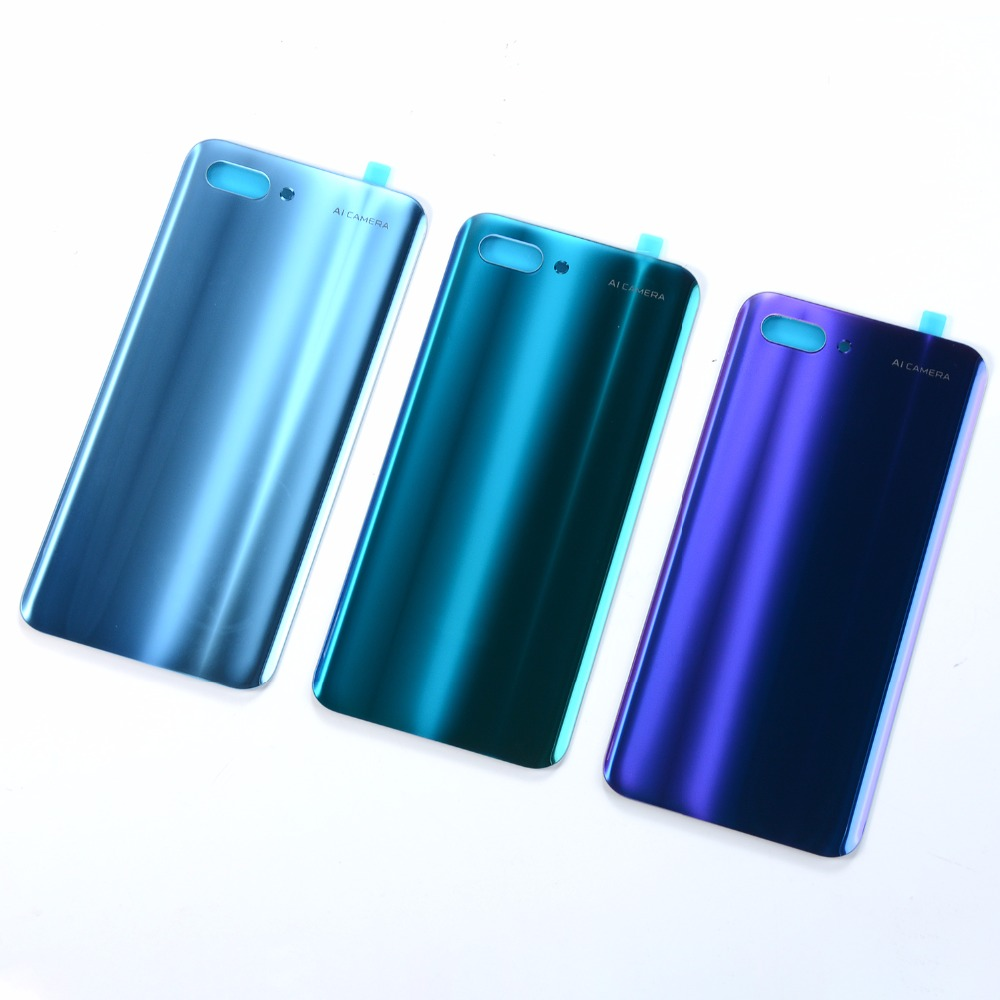 For Huawei Honor 10 Battery Back Cover Housing For Huawei Honor10 Honor 10 Rear Door Glass Battery Cover