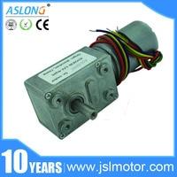 Hurtownie JGY-2838 12 v 24 v Silnik 3-214 rpm Wysoki Moment Obrotowy Silnika Elektrycznego Robak Silnik Bezszczotkowy Silnik Wsparcie rewers D Wał