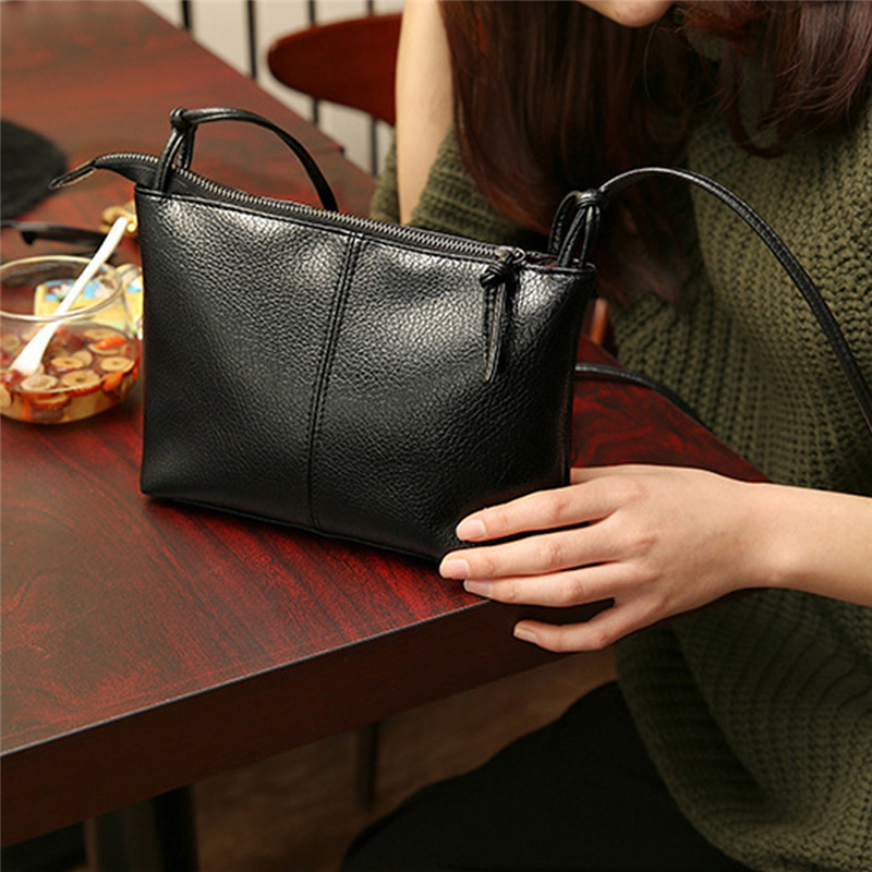 2020 Fashion Casual Shoulder Bag Crossbody Bag Small Women's Handbag Pu+ Polyester Women Messenger Bags Large Capacity