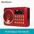 Новый Канон портативный fm-радио K077U USB/TF карты игрок радио SD card slot Radio приемник Freeshipping