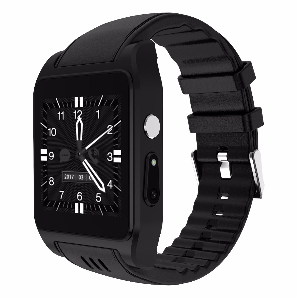 696 Newest Hot sport X86 Bluetooth Wifi Smart Watch support 3G/4G SIM card android OS Smartwatch with camera Whatsapp Facebook