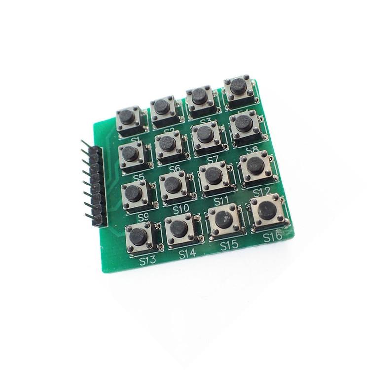 Micro switch 4 x4 matrix keyboard 16 SCM extended keyboard module