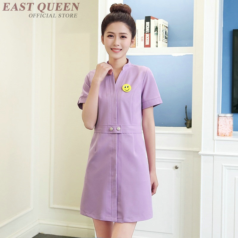 Medical nurse uniform clothing beautician massage uniform clothing scrubs medical uniforms women spa uniform FF918