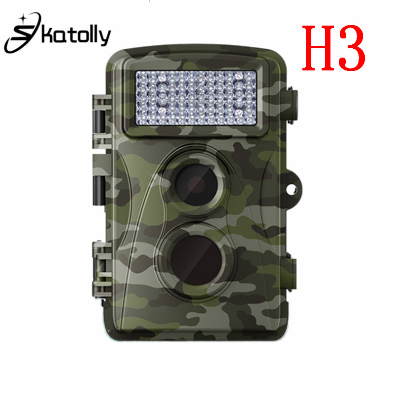 Skatolly H3 Hunting Camera 500Million Pixels CMOS IR Infrared Wildlife Scouting Trail Hunting Camera Rainproof Hunting Cam