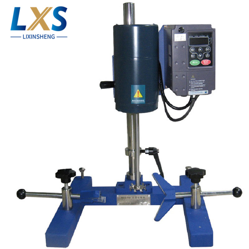 Laboratory Disperser 220V 50Hz Automatic Paint Mixing Machine 100~6000 R/Min High Speed Dispersion For