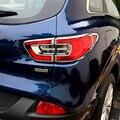 Авто ABS Хром Сзади Хвост Свет Лампы Задний Фонарь Обложка Отделка Рамка Наклейка Для Renault Kadjar 2016 Автомобильные Аксессуары