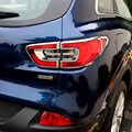 Auto ABS Chrome Rear Tail Light Lamp Taillight Cover Trim Frame Sticker For Renault Kadjar 2016 Car Accessories