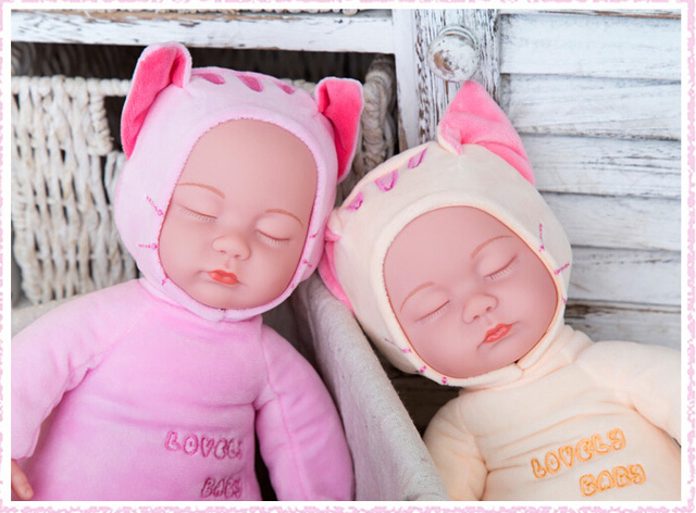 Sleep Cute Vinyl Reborn Baby Doll Toy For Kids Gift Collection