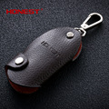 Brands HONEST 100% High-grade Genuine Leather Useful Men Keychain Bag Pendant Car Key Chain Ring Holder jewelry bcys-055