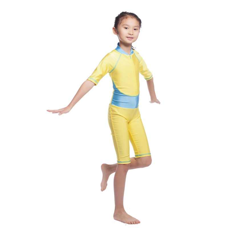 823e1df3e4293 ... New Child Kids Girls Muslim Arab Swimsuit Modest Swimwear Islamic Full  Covered Beachwear Bathing Suit Women ...