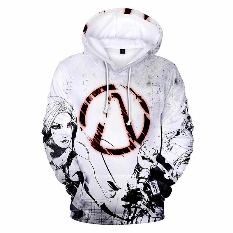 2019 Borderlands 3 Hoodies men/women/Children Around the shooting game Hooded Sweatshirt mens clothes Pullover coats