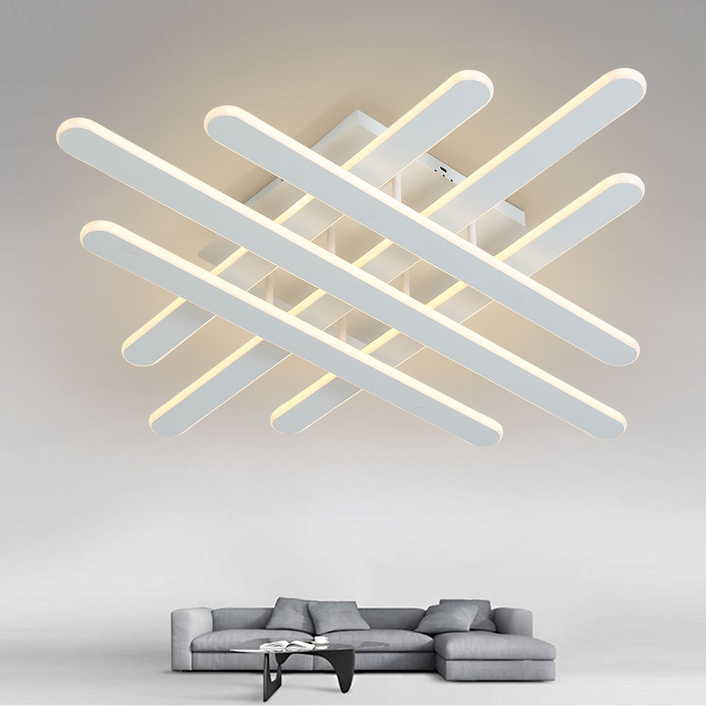 Modern Led Ceiling Light Dimmable Ceiling Lights for Living Room Bedroom Kitchen Led Ceiling Lamp with Remote Control Room Light f9 modern touch led standing floor lamp reading for living room bedroom with remote control 12 levels dimmable 3000 6000k black