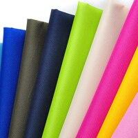 50x148cm 600D Oxford Polyester Fabric For Bag Tent Cloth Diy Materials Waterproof Tarpaulin Black Textile Bags