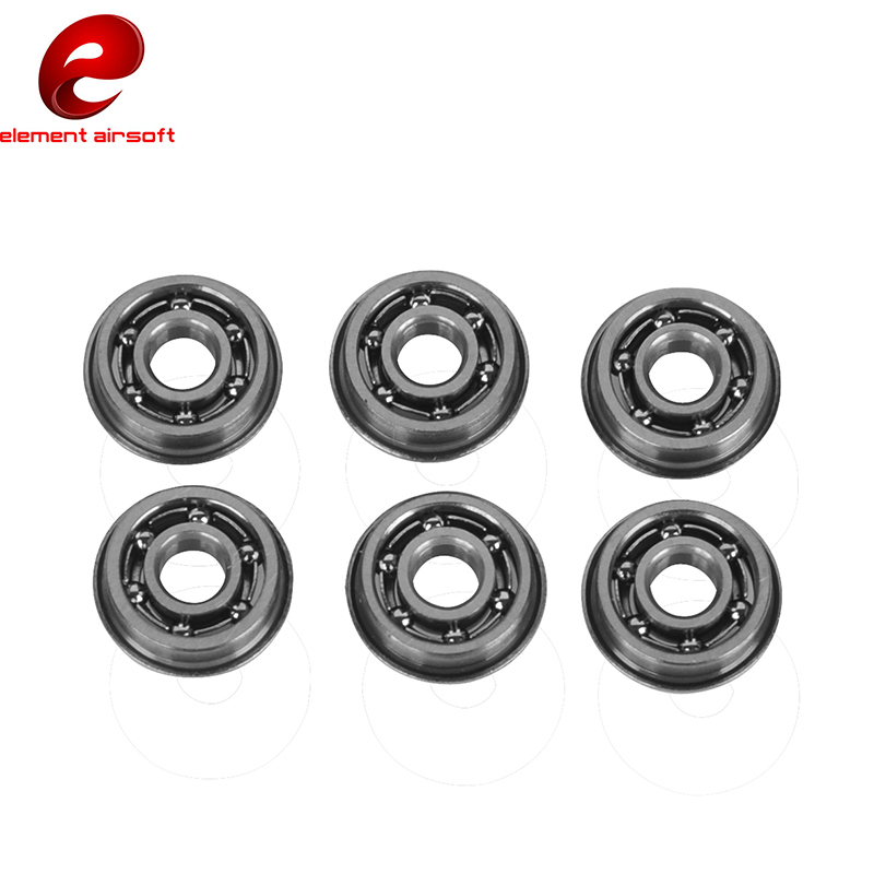 Element Airsoft Tactical Ball Bearing Bushing Metal For 8mm AEG Gearbox IN0204