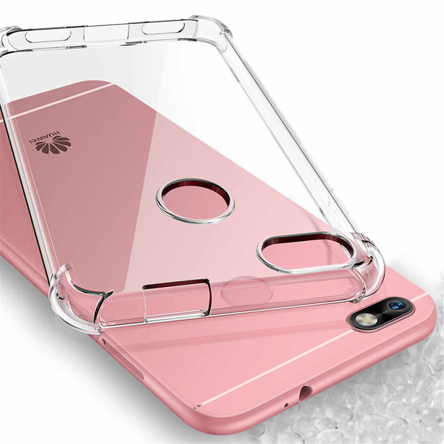 Hot TPU Case for Huawei Mate 20 Pro P20 Lite Honor 10 9 8 7X 8X 6A 5C 7A 7C Y6 Prime Y7 Y9 2018 Full Protective Cover