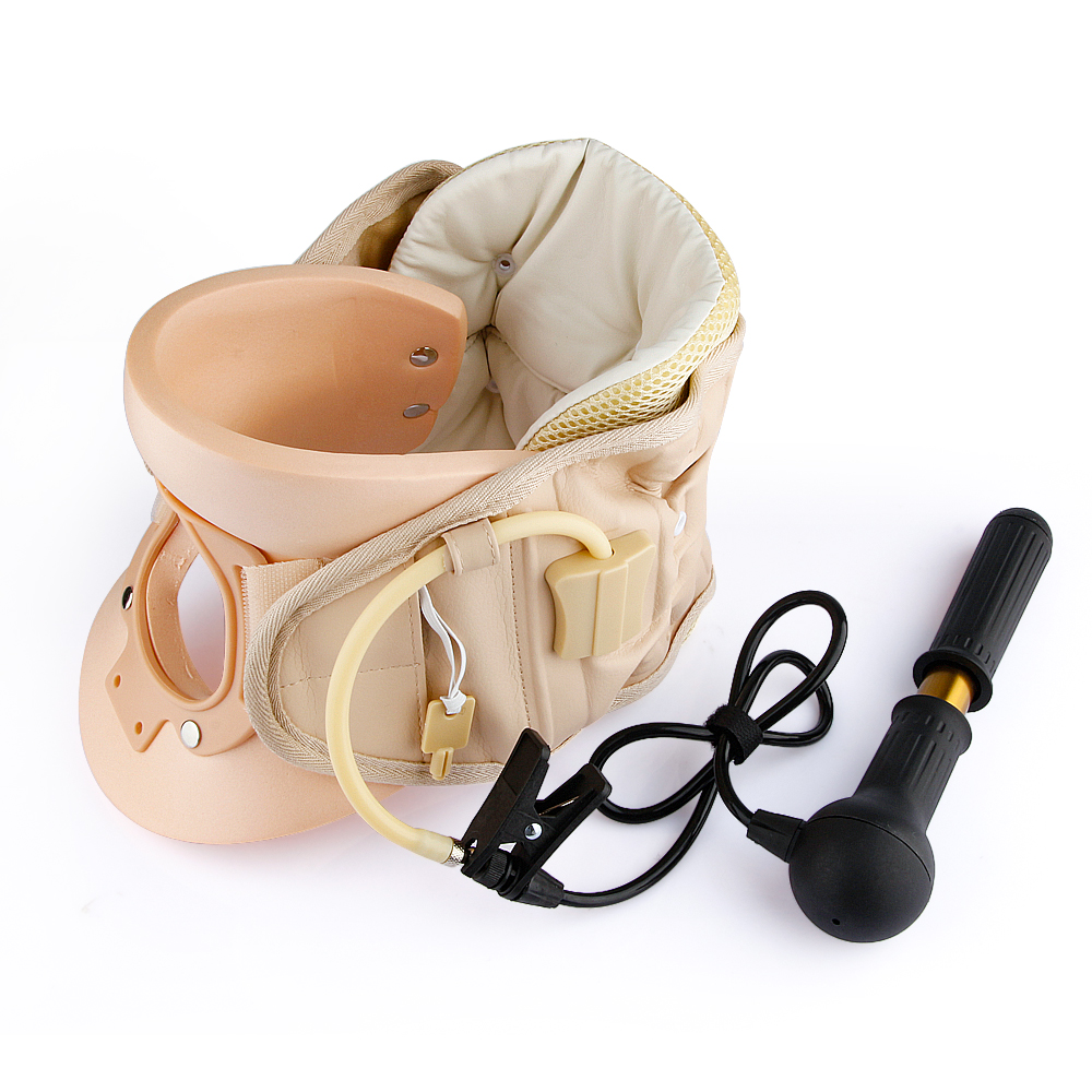 Neck Ease Care Cervical Vertebra Air Traction Cervical CollarNeck Brace Neck Pain Release Therapy Device