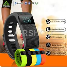 Bluetooth Smart часы TW64 SmartBand браслет носимые срок Водонепроницаемый Шагомер smartwatch для IOS Android фитнес-трекер
