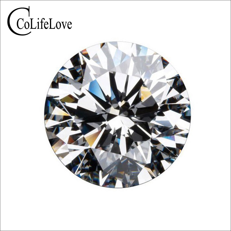 100% Real Moissanite Loose Stone for Jewelry Shop 0.3ct To 3ct F Color VVS1 Grade High Quality Moissanite with Certificate