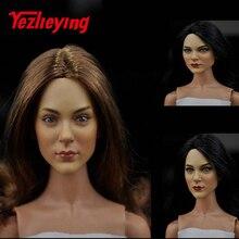 KUMIK16-21 1/6 scale figures female head sculpt Model Suitable for 12 inch doll action figure parts action model accessories цена