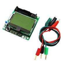 1set nueva versión de 3,7 V de inductor-condensador medidor ESR DIY MG328 probador de transistor multifunción