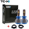 TC-X For Kia Headlights Bulb H7 LED Conversion Kits with Adapter for Kia K4 K5 Sorento All in One Car Lamp Super Bright White
