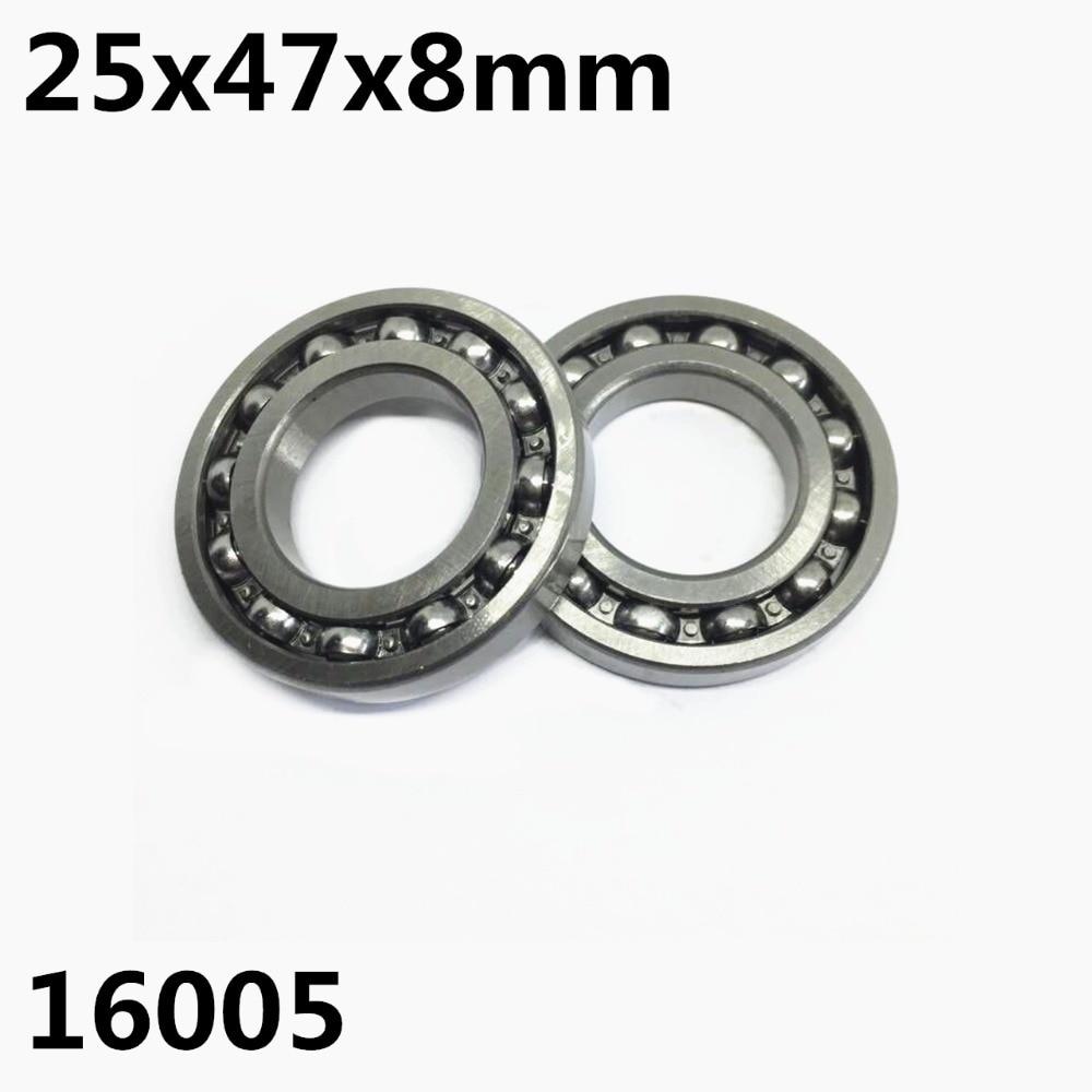 1PCS 16005ZZ 16005-OPEN 25x47x8 Mm Deep Groove Ball Bearing 16005