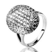 סאגת הדמדומים השחר מפציע בלה סוואן אירוסין כסף טבעת ערפד ירח החדש אקליפס 925 כסף טבעת נישואים