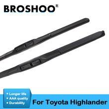 Автомобильные дворники broshoo лезвия для toyota highlander