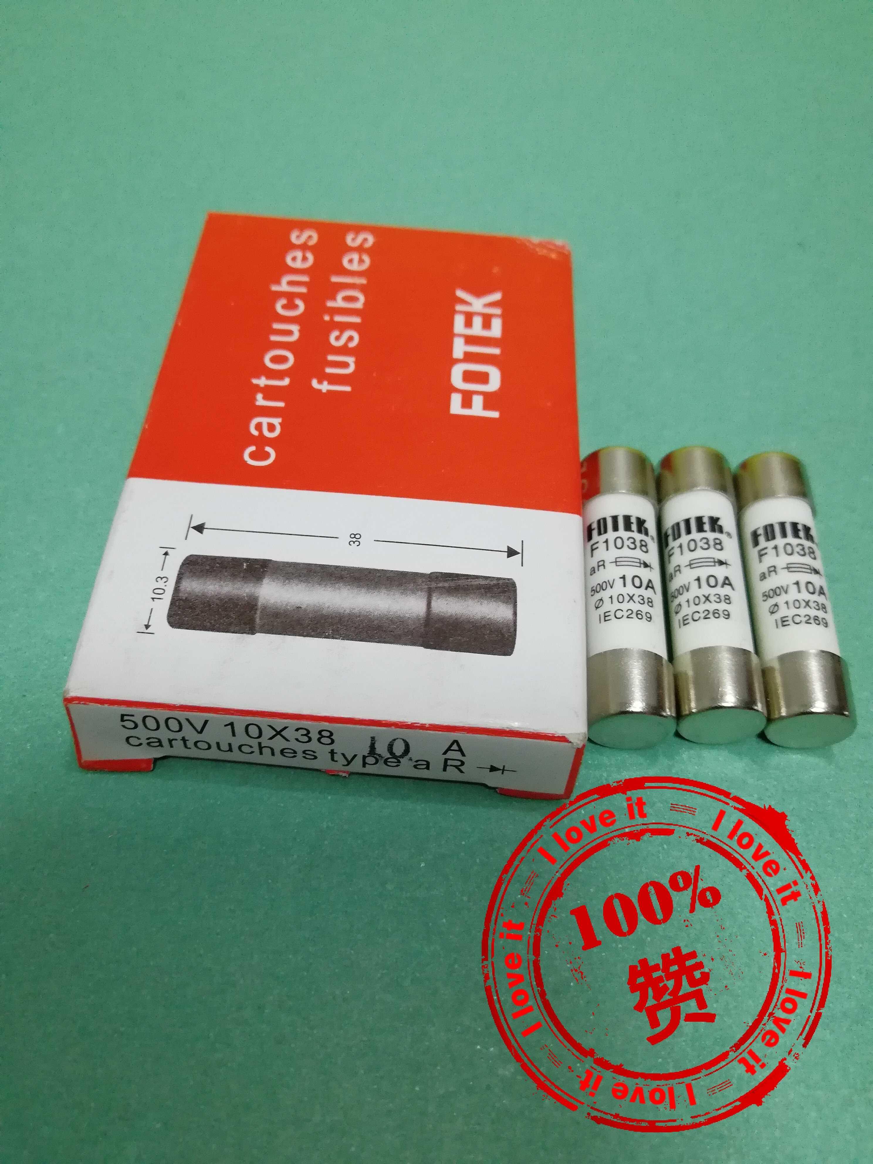 Original Imported Parts Fuse F103810A10*38 False Penalty Ten