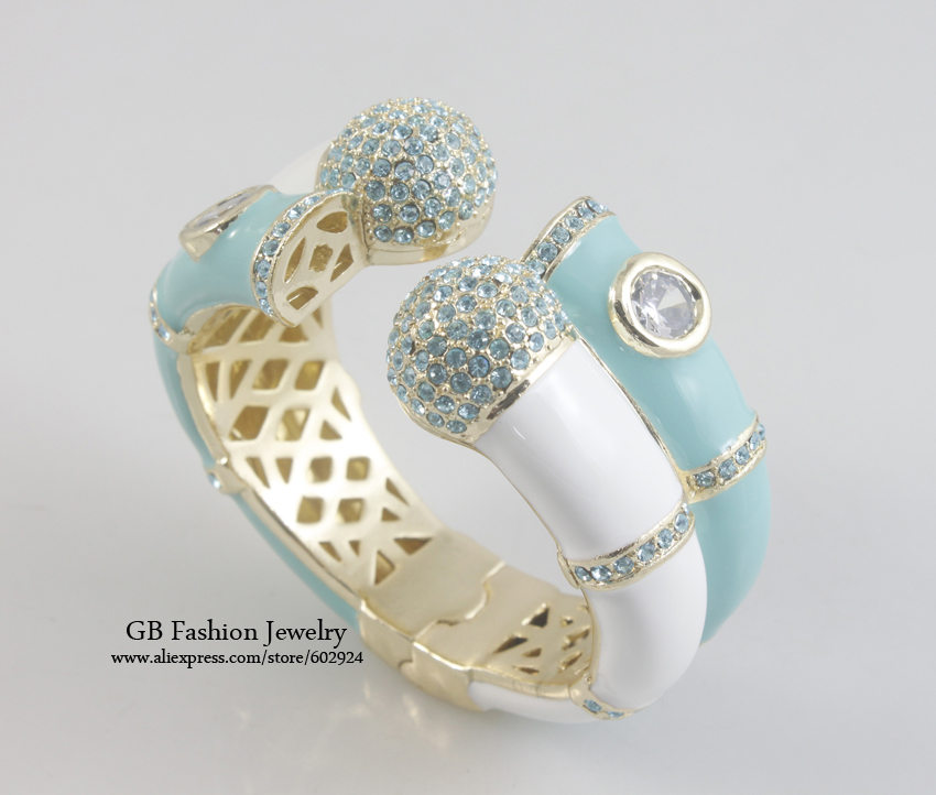 GrayBirds Free Shipping Double Bangles Zircon And Crystal And Enamel More Colors In The Stock Cuff Bangles For Women GB0538GrayBirds Free Shipping Double Bangles Zircon And Crystal And Enamel More Colors In The Stock Cuff Bangles For Women GB0538
