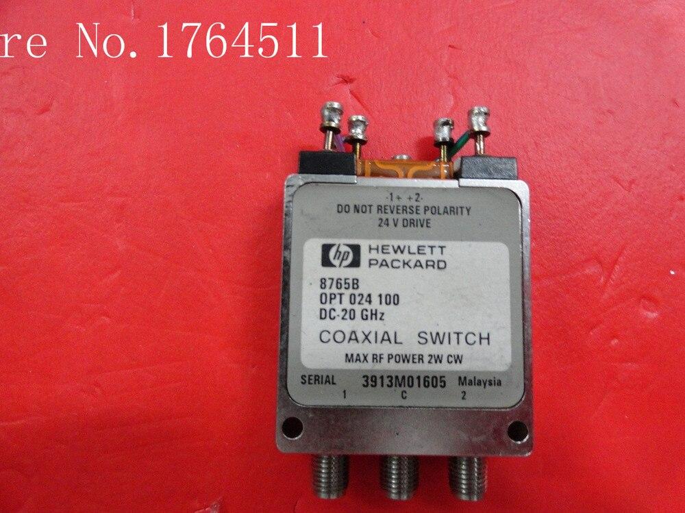 [BELLA] Supply SPDT RF - ORIGINALORIGINAL 8765B DC-20GHZ 24V SMA