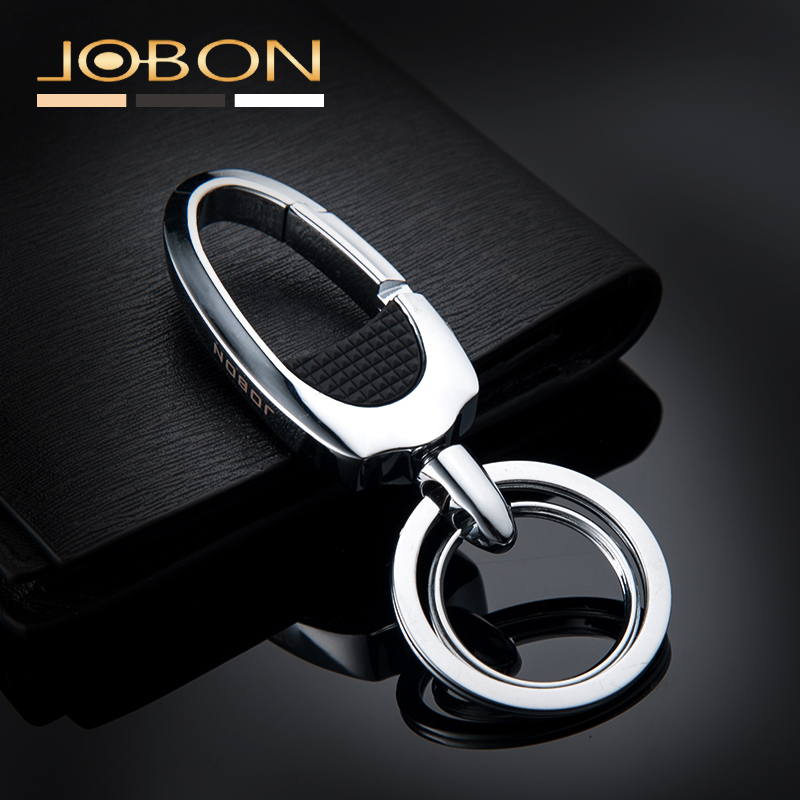 High Quality Brand Stainless Steel Luxury Keychain For