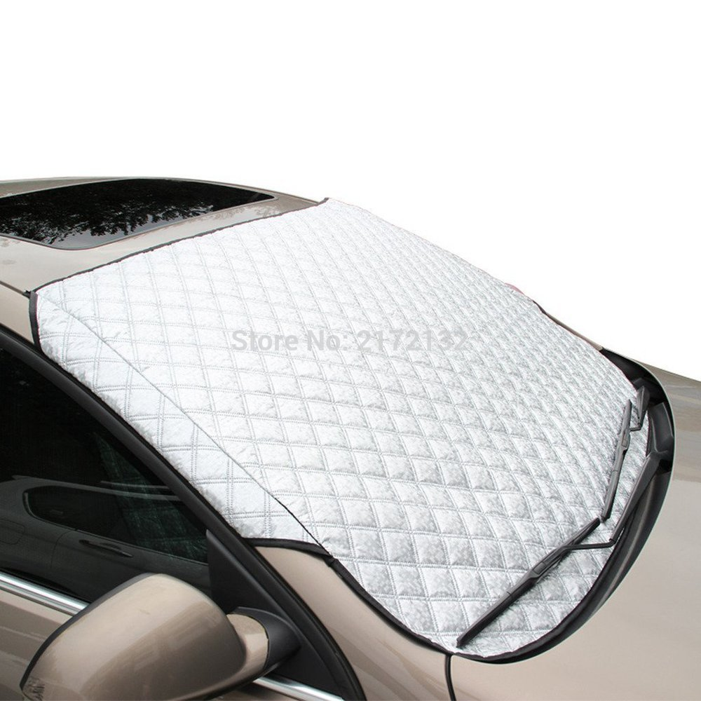 Car Cover Sunshade Reflective Foil Car Windshield Snow covers Blocked Anti-UV Eclipse Sun Shade Mesh Cover For car accessories