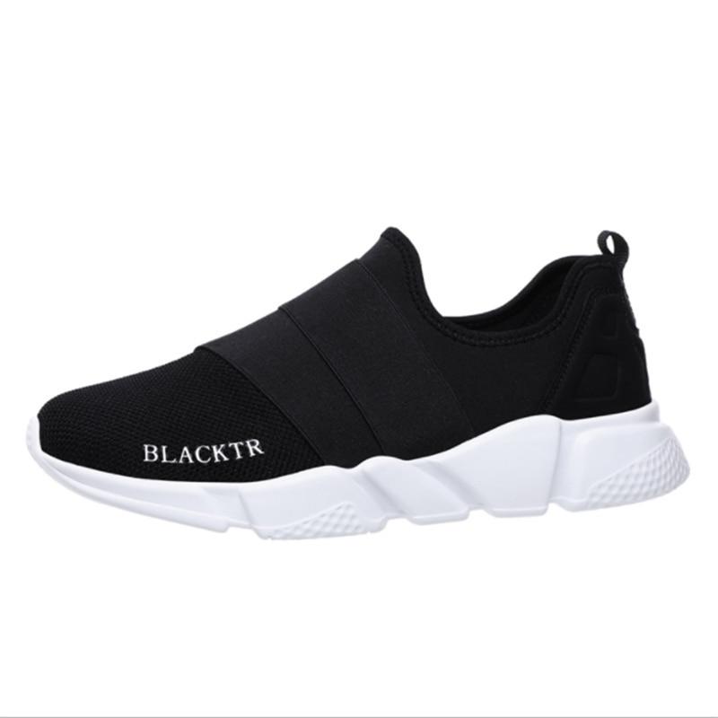 Sneakers Male Shoes Slip Fashion Solid Men Footwearwomen's Breathable