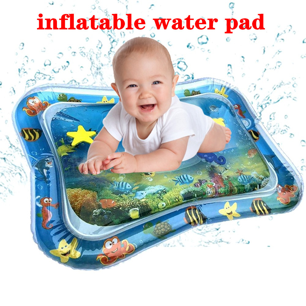 Children Kids Baby Intellectual Development Promotes Brain Developmental Health Exercise Sensory Infants Inflatable Water Pad