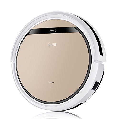 ILIFE V5S PRO Robot Vacuum Mop Cleaner with Water tank,Automatically Sweeping Scrubbing Mopping Floor Cleaning Robot Asbirador
