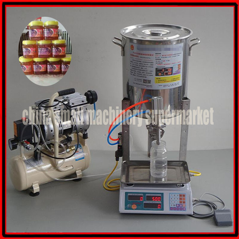 high efficiency stainless steel 20g-5kg Commercial Digital Control Viscous Liquid Filling Machine honey Filling Machine