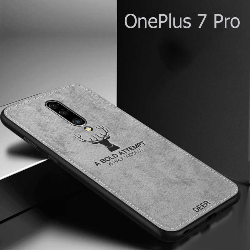 super popular 1d394 4e4db Fabric Case for Oneplus 6 6T Classic Cloth Matte Skin Soft Hard Back Cover  for Oneplus 5T One Plus 6 5T 7 Pro Prohone Cases
